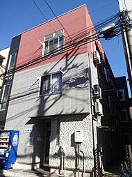 東京都北区東十条2の賃貸アパートの外観