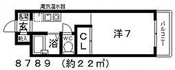 SIENA(シエナ)[302号室号室]の間取り