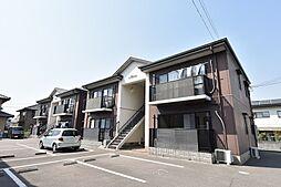 徳島県板野郡松茂町広島字北ノ川の賃貸アパートの外観