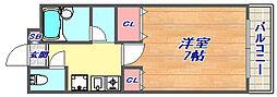 オ・ボワクレール[3F号室]の間取り