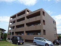 長野県長野市大字富竹の賃貸マンションの外観