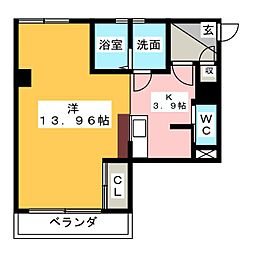 H.A.Y[4階]の間取り
