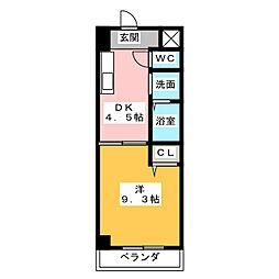 GRACE HEIM(グレイスハイム)[2階]の間取り