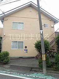 埼玉県戸田市中町1丁目の賃貸アパートの外観
