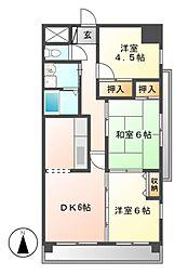 changuIII泉(チャング)[12階]の間取り