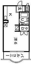 FSI湘南台[1階]の間取り