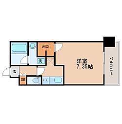 プレジオ南堀江[11階]の間取り