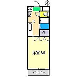 サンロード[2階]の間取り