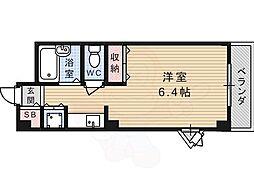 JR東海道・山陽本線 高槻駅 バス24分 南平台西口下車 徒歩5分の賃貸マンション 1階1Kの間取り
