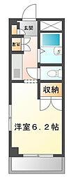 神奈川県横浜市都筑区桜並木の賃貸マンションの間取り