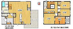3LDK、土地面積252.96平方メートル、建物面積109.98平方メートル