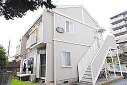 埼玉県越谷市大沢4の賃貸アパートの外観