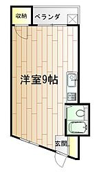内山第27ビル[5階]の間取り