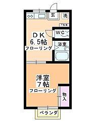 第2多田ハイム[2階]の間取り