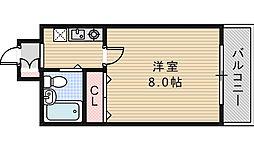 ウィングハウス[203号室]の間取り