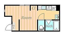 仮)松が枝町新築アパート[2階]の間取り