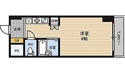 ラ・フォーレ上新庄[2階]の間取り