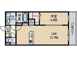 メゾンCOCO[3階]の間取り
