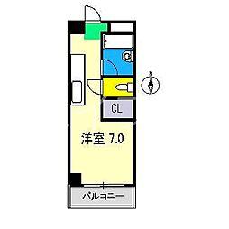 ミタニマンション[3階]の間取り