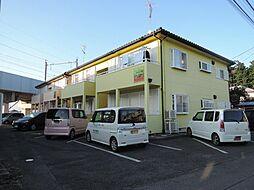 茨城県古河市女沼の賃貸アパートの外観