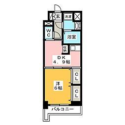 レジデンス19[7階]の間取り