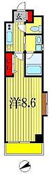 レオセントラルガーデン[3階]の間取り