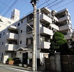 東京都大田区西蒲田8の賃貸マンションの外観
