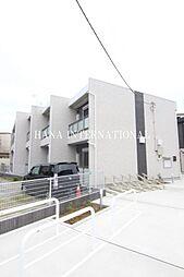 東京都足立区竹の塚7丁目の賃貸アパートの外観