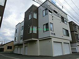 北海道札幌市東区北二十四条東9丁目の賃貸アパートの外観