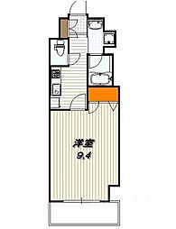 アスヴェル京都二条駅前II[502号室]の間取り