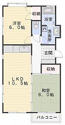 第3吉田ビル[304号室]の間取り