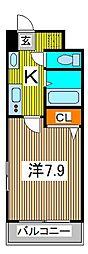 アルファコート西川口IV[3階]の間取り