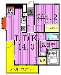 グランモール千代田[3階]の間取り