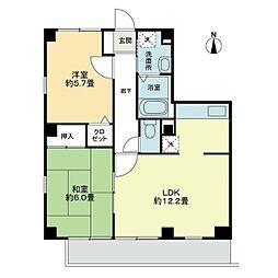 フォブールMII[2階]の間取り
