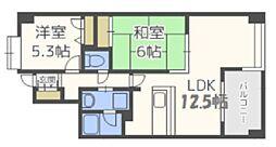 エルガーラ入江[5階]の間取り