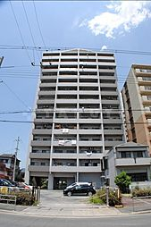 生島リバーサイドマンションD棟[11階]の外観