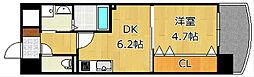 ザ.ヒルズ戸畑[8階]の間取り
