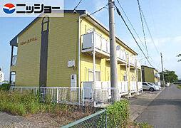 フラット矢戸川A・B棟[2階]の外観