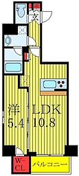 都営三田線 西巣鴨駅 徒歩5分の賃貸マンション 4階1LDKの間取り