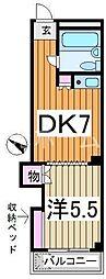 松山ハウス[2階]の間取り