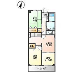 スカイコ−トI・II[1階]の間取り