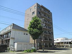 北海道札幌市東区北三十九条東9丁目の賃貸マンションの外観