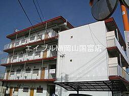 岡山県岡山市中区国富3丁目の賃貸マンションの外観