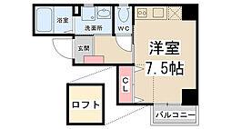 ZONE 1/f Part5[4階]の間取り