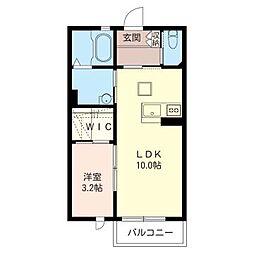 プリマベーラ E[1階]の間取り