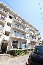 東京都北区中里3丁目の賃貸マンションの外観