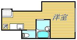 インベスト南大井II[1階]の間取り