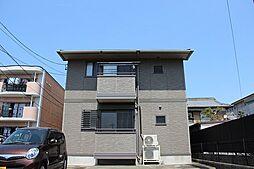 愛知県あま市木田八反田の賃貸アパートの外観