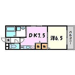 レトア小松[2階]の間取り
