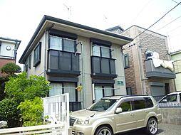東京都江戸川区南小岩7の賃貸アパートの外観